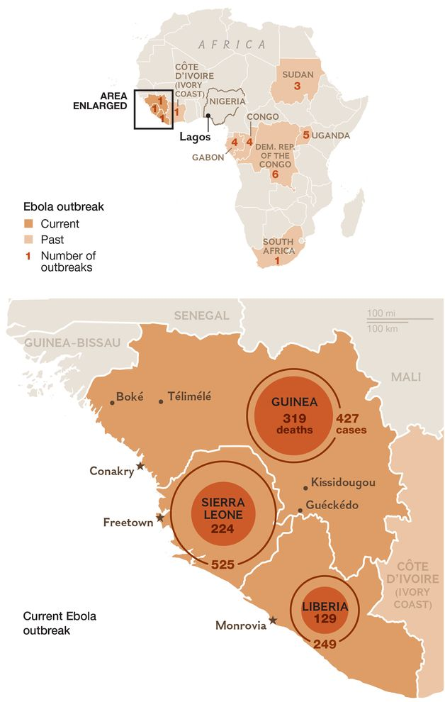 Why Deadly Ebola Virus Is Likely to Hit the U.S. But Not Spread