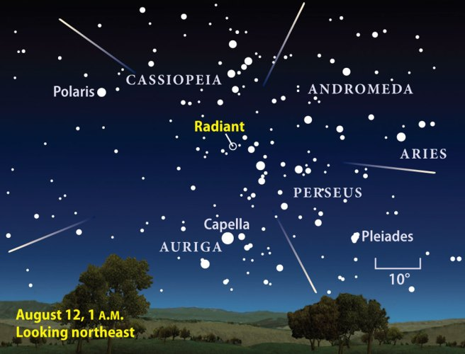 Perseid Meteor Shower and Full Moon To Occur Together This Year - Weather Wisdom - Boston.com