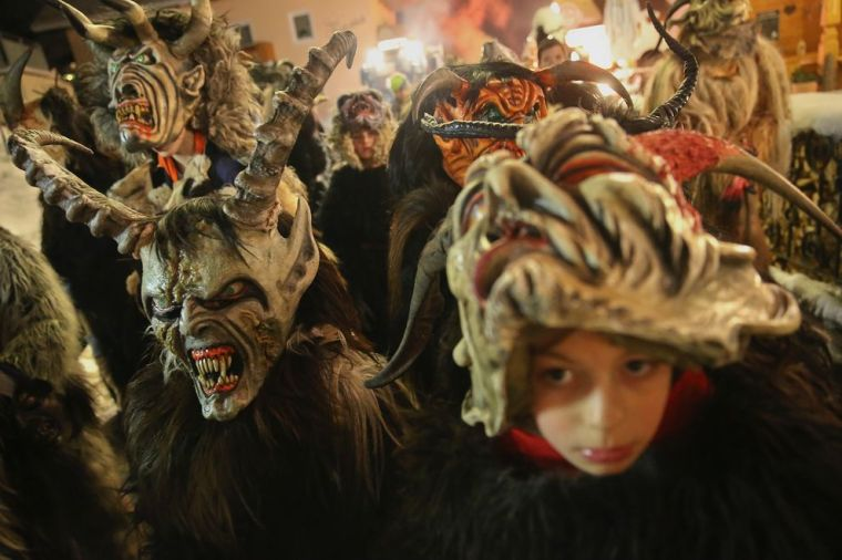 Krampus the Christmas Devil Is Coming to More Towns. So Where's He From?
