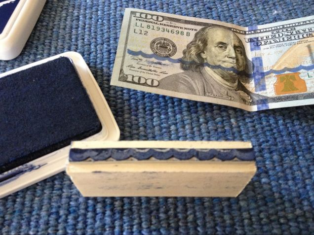 People Are Stamping Rising Sea Levels onto Dollar Bills for Climate Change   Motherboard