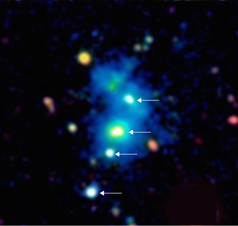 Four Quasars in One Nebula: Scientists Find an Incredible Astronomical First | Motherboard
