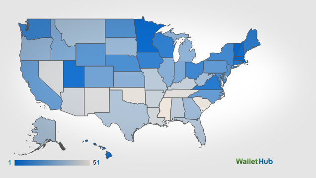 2015's Safest States to Live In | WalletHub®