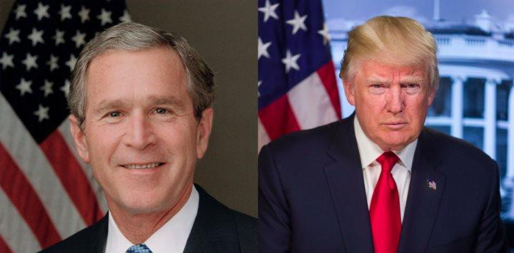Bush and Trump
