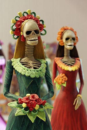 La Catrina – In Mexican folk culture, the Catr...