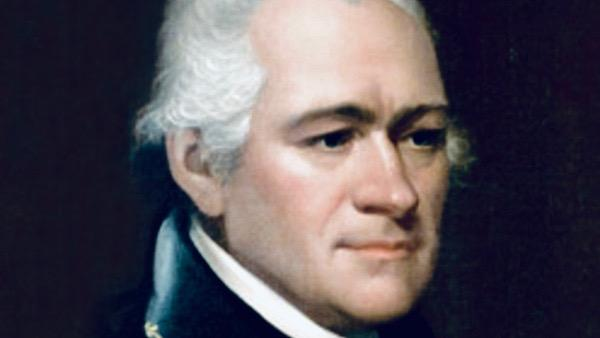 Alexander Hamilton portrait by Ezra Ames cropped